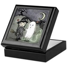 Witch Loves Ghost Keepsake Box