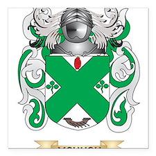 McHugh Coat of Arms - Family Crest Square Car Magn