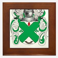 McHugh Coat of Arms - Family Crest Framed Tile