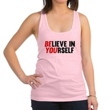 Believe in Yourself Racerback Tank Top