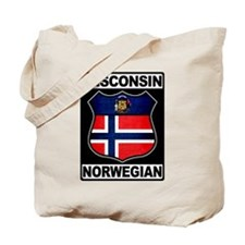 Wisconsin Norwegian American Tote Bag
