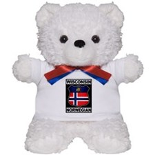 Wisconsin Norwegian American Teddy Bear
