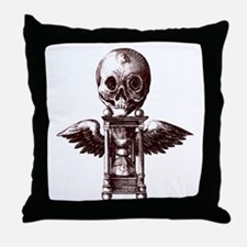 Fugit Hora Throw Pillow