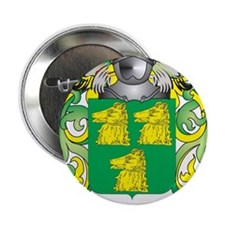 "McKee Coat of Arms - Family Crest 2.25"" Button"