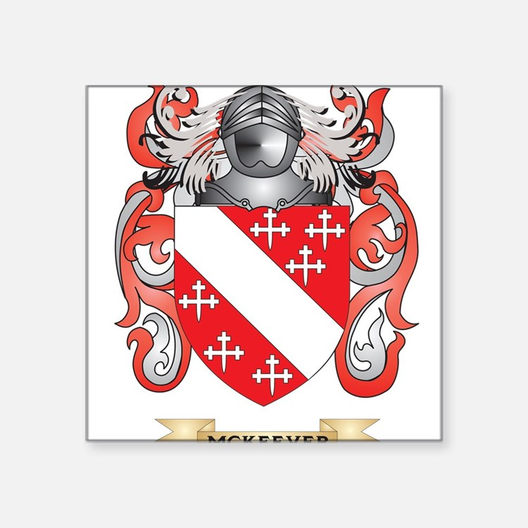 McKeever Coat of Arms - Family Crest Sticker