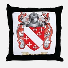 McKeever Coat of Arms - Family Crest Throw Pillow