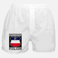 Wisconsin Polish American Boxer Shorts