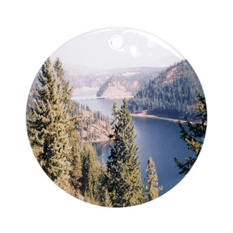Beauty Bay, Lake Coeur d'Alene Ornament (Round)