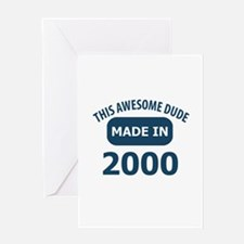 This awesome dude made in 2000 Greeting Card