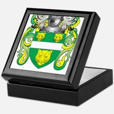 McKenna Coat of Arms - Family Crest Keepsake Box