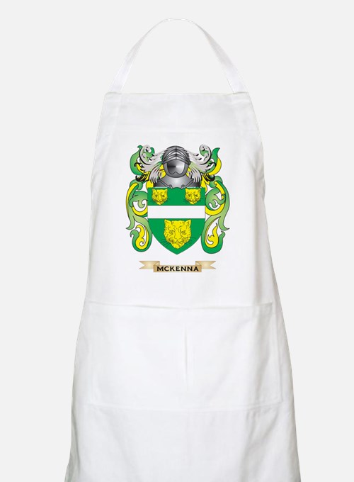 McKenna Coat of Arms - Family Crest Apron