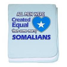 Somalian wife designs baby blanket