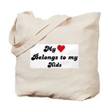 My Heart: Kids Tote Bag