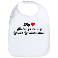 My Heart: Great Grandmother Bib