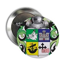 "McKinnon Coat of Arms - Family Crest 2.25"" Button"