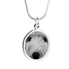 Buddy Silver Round Necklace