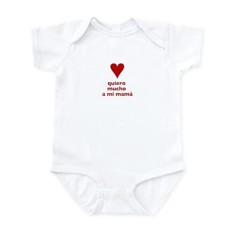 """Spanish """"I love my mommy"""" Infant Bodysuit"""