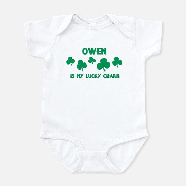 Owen is my lucky charm Infant Bodysuit