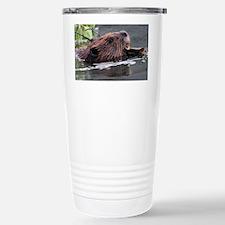 beaver Stainless Steel Travel Mug