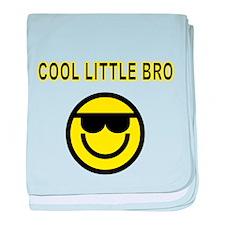 COOL LITTLE BRO baby blanket