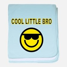 COOL LITTLE BRO baby blanket