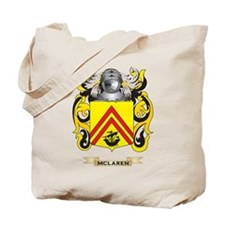 McLaren Coat of Arms - Family Crest Tote Bag