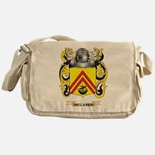 McLaren Coat of Arms - Family Crest Messenger Bag
