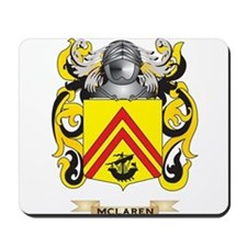 McLaren Coat of Arms - Family Crest Mousepad