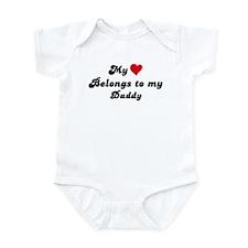 My Heart: Daddy Infant Bodysuit