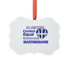 Martiniquans wife designs Ornament
