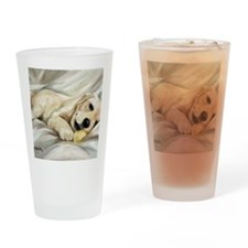 Lazy Bones Drinking Glass