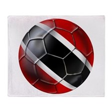 Trinidad Tobago Football Throw Blanket