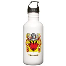 McLennan Coat of Arms - Family Crest Water Bottle