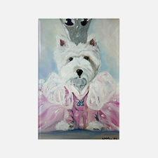 Glenda the Good Pup Rectangle Magnet