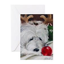Merry Ho Ho Greeting Card
