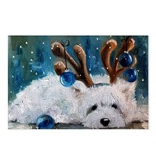 Blue Christmas Postcards (Package of 8)