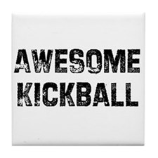 Awesome Kickball Tile Coaster