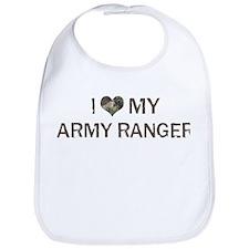 Army Ranger: Love - Vintage Bib