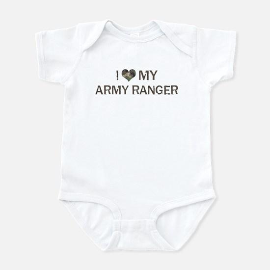 Army Ranger: Love - Vintage Infant Bodysuit