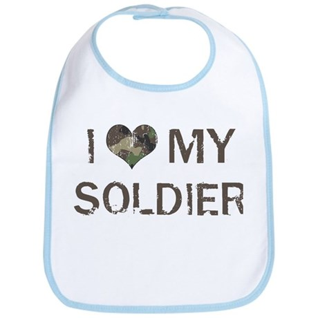 Soldier: Love - Vintage Bib