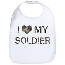 Soldier: Love - Vintage Bib