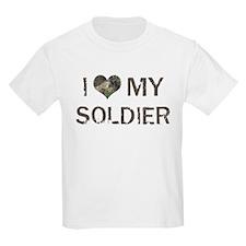 Soldier: Love - Vintage Kids T-Shirt