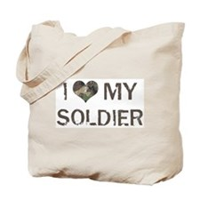Soldier: Love - Vintage Tote Bag