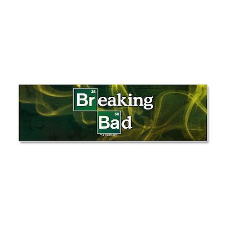 Breaking Bad Logo Car Magnet 10 x 3