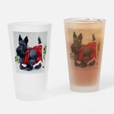Christmas Drinking Glass