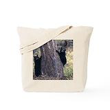 Black bear Bags & Totes