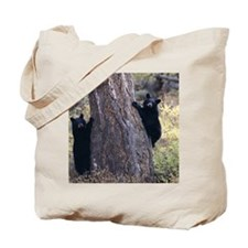 black bear cubs Tote Bag