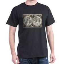 Old World Map 1630 T-Shirt