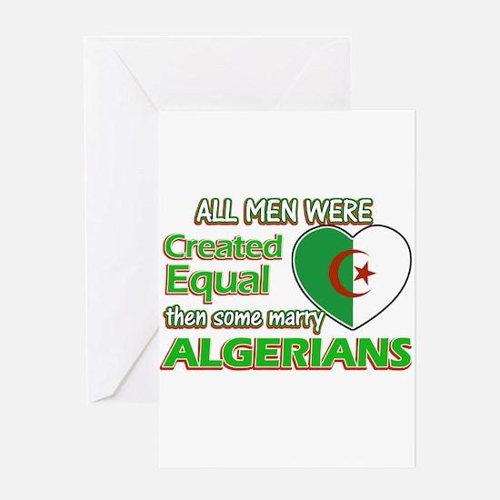 Algerian wife designs Greeting Card