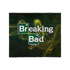 Breaking Bad Logo Throw Blanket